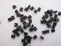 Freeshipping and Brand New 2000pcsx 2.0mm Standard Circuit Board Jumper Cap shunts Short Circuit Cap