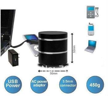 Free Shipping Vibro Speaker,mini speaker 3W with Li-Battery