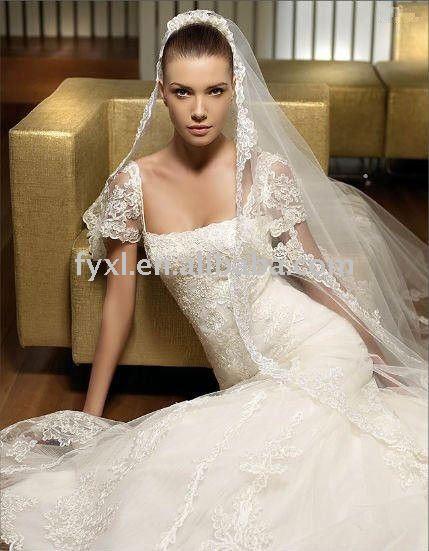 wedding dress white and maroon