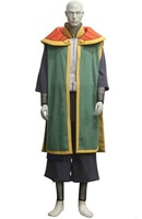 Wholesale Free Shipping Hot Selling Cheapest New Halloween Cosplay Costume CE3433 Naruto The Current Tsuchikage Onoki