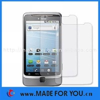 LCD Screen Protector For HTC Vision G2(SP-H003) 10pcs/lot With Retail Package Free Shipping