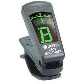 Clip-On Chromatic Bass Guitar Ukulele Tuner JOYO