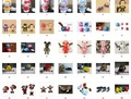 Free Shipping! Cartoon USB Flash Memory (Mixed order Accept), 1GB/2GB/4GB/8GB