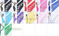 Free shipping 20pcs/lot Belly Dance Fan Veil /Belly Dance emulation silk fan veil /belly dance accessories