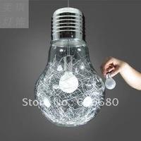 Free shipping European Modern Creative Glass Bulb pendant light pendant lamp ceiling lamp( contemporary home decoration)