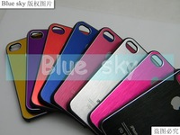 for iphone 4 4S case metal aluminium 100pcs many colors free shipping