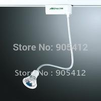 led tracking light led track spot light can adjust the emitting angle at random without MR16 bulb