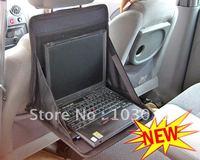 Hot Selling--Portable Folding Car Notebook Laptop Desk Table Mount Holder Tray Bag Back Seat Organizer
