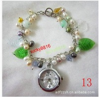 hot fashion  Exquisite pearl watch wrist watch