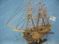 Model ship kit Royal Caroline 1:50 33 inch Historic Famous Ship Wood Free Shipping