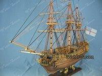 Model ship kit Royal Caroline 1:50 33 inch Historic Famous Ship Wood Free Shipping