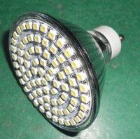 SMD GU10 led spotlight,60pcs 3528 SMD LED