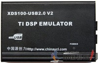 Free Shipping,XDS100V2 USB DSP Emulator,Support DSP OMAP3530 ARM9 Cortex A8,XDS100v2 USB JTAG Emulator,(Model-E)
