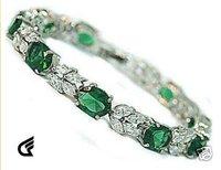 Superb Jewelry Natural Gorgeous amethyst 14 K GOLD  Bangle bracelet shipping free b-17