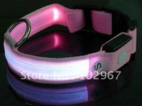 50pcs led dog collar wholesale