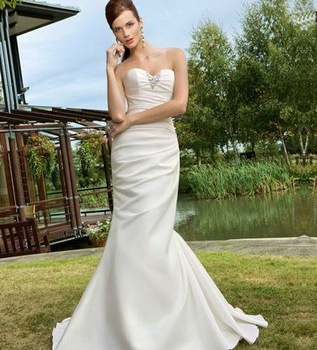 Wholesale - Great Discount Unique design white sweethart Wedding Dress Bridal Gown *Custom make*SZ:4-28*