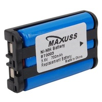 3.6V 700mAh NiMH Battery for Maxuss Uniden BT0003 BT-0003 Cordless Phone