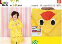 factory direct Wholesale 10pcs animal children raincoat, children cartoon raincoat, linda linda children raincoat