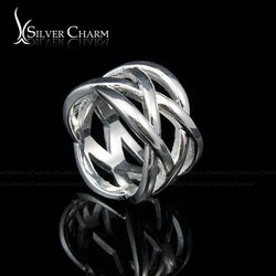 HOT SALE Free Fast Shipping Fashion 925 silver double finger ring for women and men build a ring Jewellery(China (Mainland))