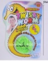 60pcs/lot /Magic worm/Squirmles/Slideyz/Twisty worm/wiggles/Bulk packing/Magic Tricks/free shipping