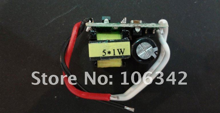 5w 220V LED power Supply& Driver& Adapter(China (Mainland))