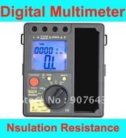 Freeshipping 2 in 1 High quality BM3548 Digital Insulation Resistance Tester Meter + digital multimeter, megger