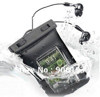 dhl free Sport Waterproof Earphone + Armlet + Waterproof CaseFit for iPhone 4/3G/3gs/iPod Touch/mp3  mp4 / PDA/Mobile Cell Phone