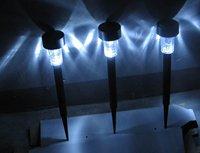 Free shipping 5pcsOutdoor Solar Powered Landscape Lights Lighting Lamp Solar garden light