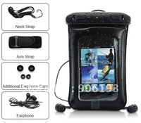 Sport Waterproof Earphone + Armlet + Waterproof CaseFit for iPhone 4/3G/3gs/iPod Touch/any mp3  mp4 / PDA/Mobile Cell Phone