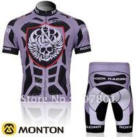 2011 ROCK RACING Short Sleeve Cycling Jersey and BIB Shorts Set/Cycling Wear/Cycling Clothing
