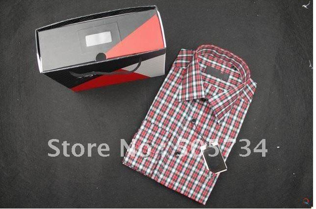 Brand name men shirts , new men business shirts . ( ACCEPT Min order + Mix order )(China (Mainland))