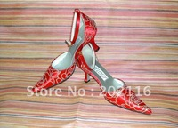 1 pair/lot Red New fashion Design Evening/Wedding/Dress Shoes A1037r