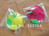 Free shipping! cute style silicon tea infuser with pad wholesale