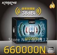 Free DHL/UPS shipping!! Kasens 660000N High Power 3000mW 802.11b/g/n 150Mbps USB 2.0 WiFi Wireless Network Adapter w/ 3 Antenna