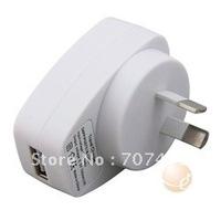 Premium USB Travel Charger Adapter, White  Australia.