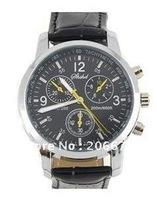 New Fashionable Quartz Wrist Watch (Black) men's watch.free shipping