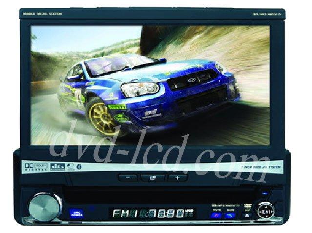 wholesale High quality 7 inch in dash dvd player with raido,TV,bluetooth,SD USB GPS navigation HD LCD(China (Mainland))