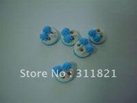 Wholesaler cute  nail sticker /nail decoration + free shipping