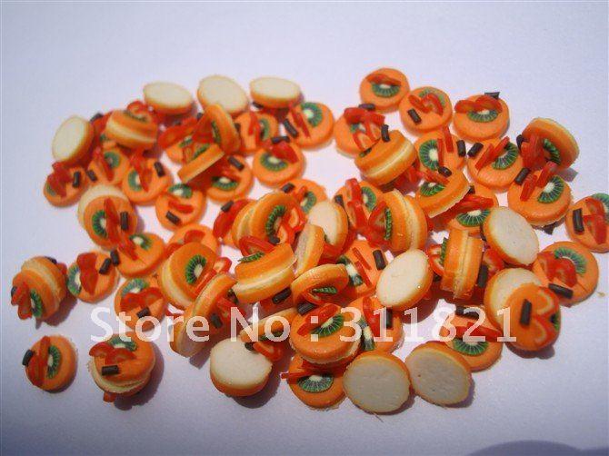 Atacadista Adorável hambúrguer decoração de unhas / etiqueta + frete grátis(China (Mainland))