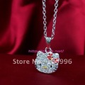 new hello kitty wholesale necklace with EMS fast free shipping-1385
