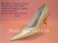 1 pair/lot ivory New fashion Design Evening/Wedding/Dress Shoes K165M