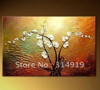 Modern Flower Abstract painting 100%handmade bestseller in Europe Free shipping