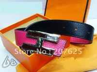 Free shipping Men's real leather belts,leather belt,100% cow leather.Mix style,Free shipping! 5pcs/lot