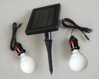 Free Shipping Saving Energy Green Product Solar LED Bar Light Solar Lawn Light (SL-02C)