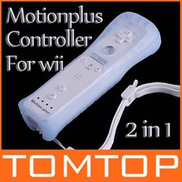 Аксессуары для Wii Wireless Remote Controller for Nintendo Wii White + Case GAME032 Drop Shipping