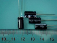 Freeship 100PCS 16v 220uF Aluminum Electrolytic Capacitor 220uf 16v 6x12mm 100PCS