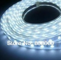 5M 300leds DC 12V 3528 led strip light white non-waterproof Free Shipping