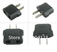 100pcs/lot Free shipping (Via DHL) Universal EU to US AC Power Adapter Converter Plug Travel Adapter