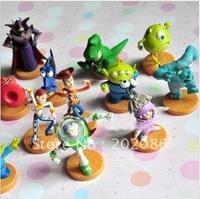 wholesale toy story 3 figures Plastic figures PVC Cartoon figures 13styles 65pcs/lot Free shipping