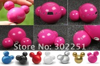 Wholesale cute mini MP3 Player with 2GB/4GB mp3 music player with light 50pcs/Lot
